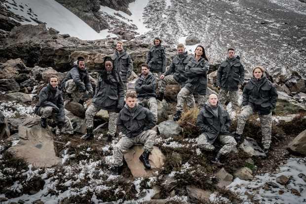 SAS Celebrity SU2C (Channel 4)