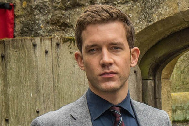 Nick Hendrix plays DS Jamie Winter in Midsomer Murders