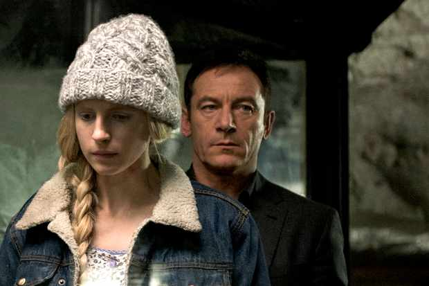 Brit Marling and Jason Isaacs in The OA (Netflix)