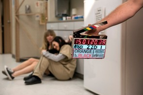 Behind the scenes on Orange is the New Black (Jojo Whilden/Netflix)