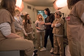 Behind the scenes on Orange is the New Black (JoJo Whilden / Netflix)