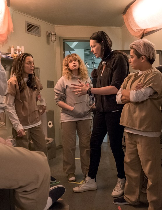 Behind the scenes on Orange is the New Black (JoJo Whilden / Netflix)