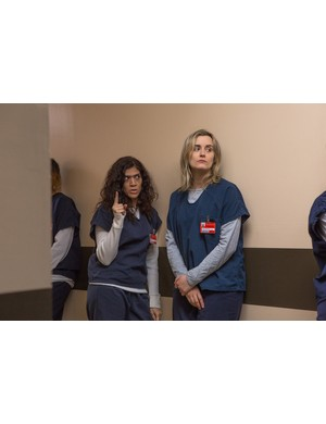 Behind the scenes on Orange is the New Black (Cara Howe / Netflix)