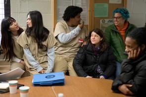 Behind the scenes on Orange is the New Black (Jessica Miglio/Netflix)