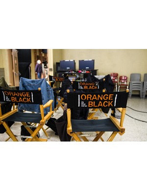 Behind the scenes on Orange is the New Black (Sarah Shatz/Netflix)