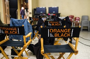 Behind the scenes on Orange is the New Black (Sarah Shatz/Netflix)