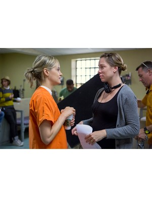Behind the scenes on Orange is the New Black (Jessica Miglio/Netflix)