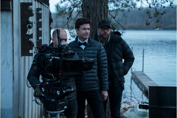 Filming for Ozark, starring Jason Bateman