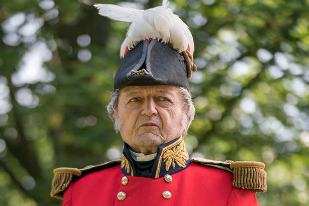 Peter Bowles plays the Duke of Wellington in Victoria