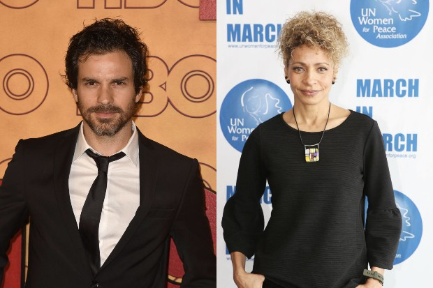 Santiago Cabrera and Michelle Hurd (Getty)