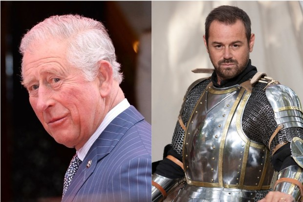 Prince Charles and Danny Dyer