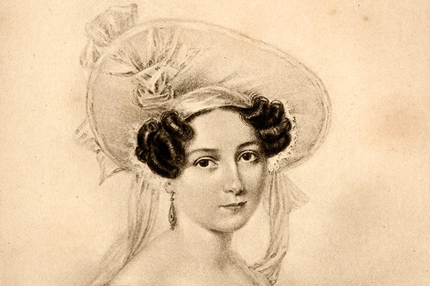 Princess Feodora in 1830