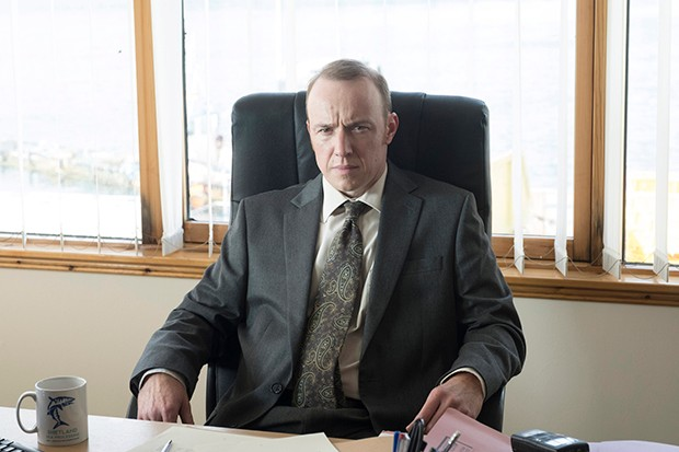 Robin Laing plays Gavin Laird in Shetland