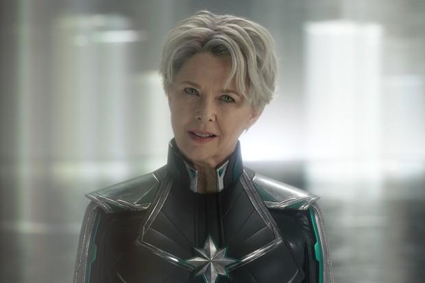 Annette Bening as the Supreme Intelligence/Mar-Vell in Captain Marvel