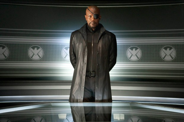 Samuel L Jackson as Nick Fury(Disney)