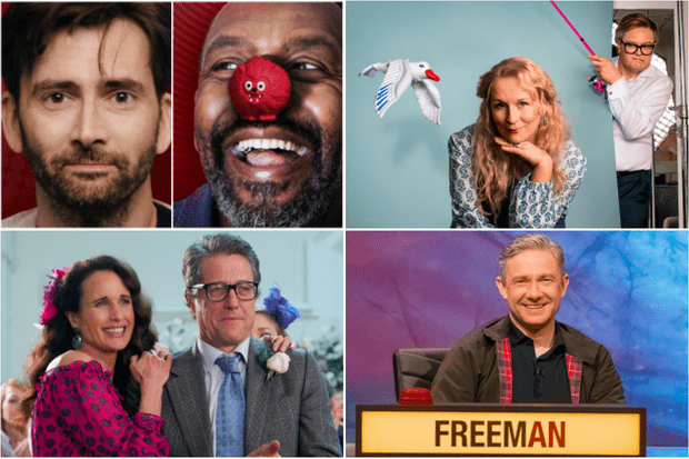 af2f384c5dc Red Nose Day 2019 complete TV guide