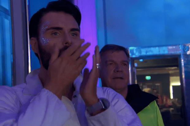 The Apprentice Comic Relief - Rylan (BBC Screenshot)
