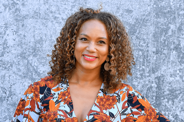Angela Griffin plays Astrid