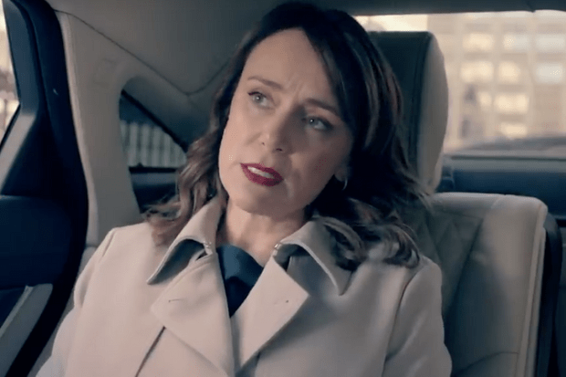Keeley Hawes, Julia Montague, Bodyguard Comic Relief (BBC Screenshot)