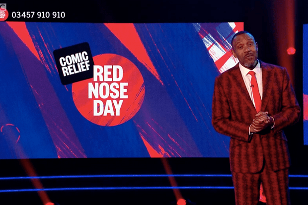 Lenny Henry, Comic Relief (BBC Screenshot)