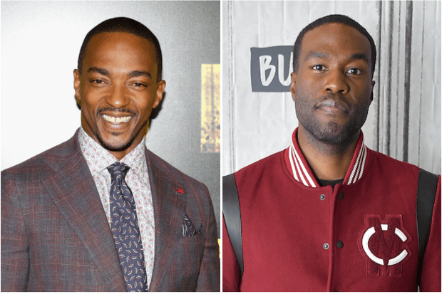 Anthony Mackie and Yahya Abdul-Mateen II (Getty)