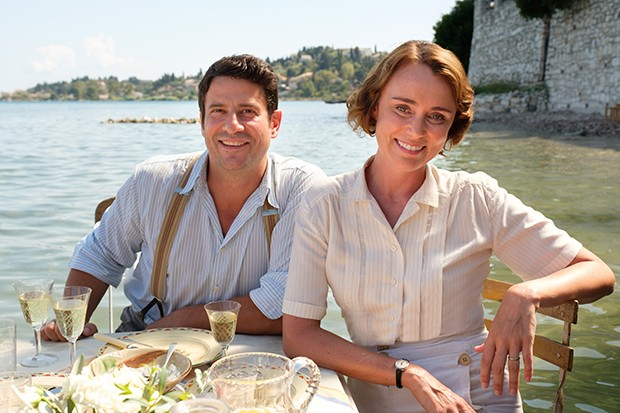 Spiro and Louisa in The Durrells