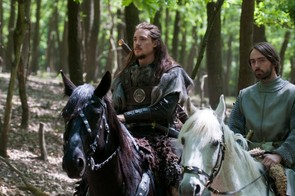 The Last Kingdom -Episode Eight © Carnival Film & Television Ltd Photographer: Kata Vermes Alexander Dreymon (as Uhtred) and David Dawson (as Alfred)