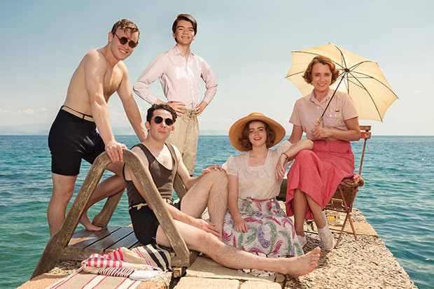 The Durrells family