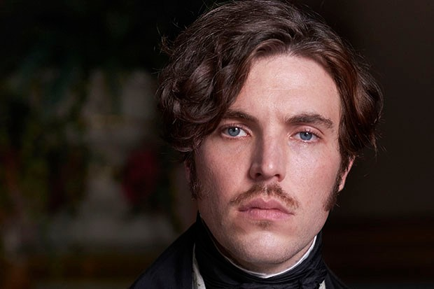 Tom Hughes plays Prince Albert in Victoria