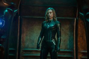 Brie Larson in Captain Marvel (Marvel Studios)