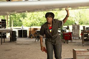 Lashana Lynch in Captain Marvel (Marvel Studios)