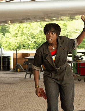 Lashana Lynch in Captain Marvel (Marvel Studios)