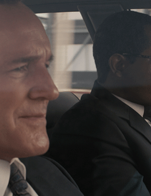 Clark Gregg and Samuel L Jackson in Captain Marvel (Marvel Studios)