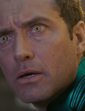 Jude Law in Captain Marvel (Marvel Studios)