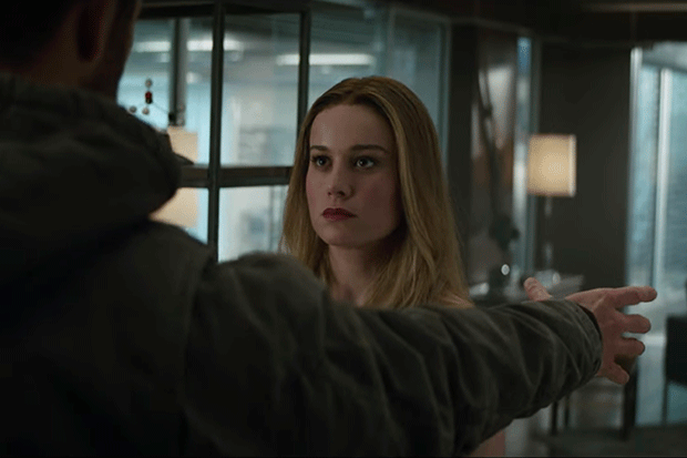 Captain Marvel in Avengers: Endgame, YouTube