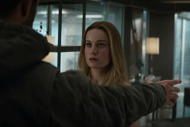 Captain Marvel in Avengers: Endgame, YouTube