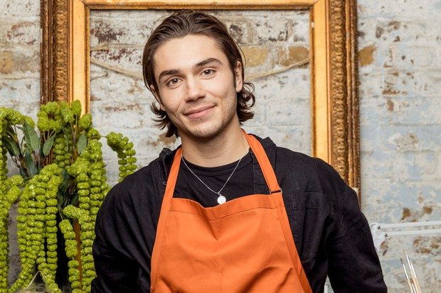 George Shelley in Celebrity Painting Challenge (BBC)