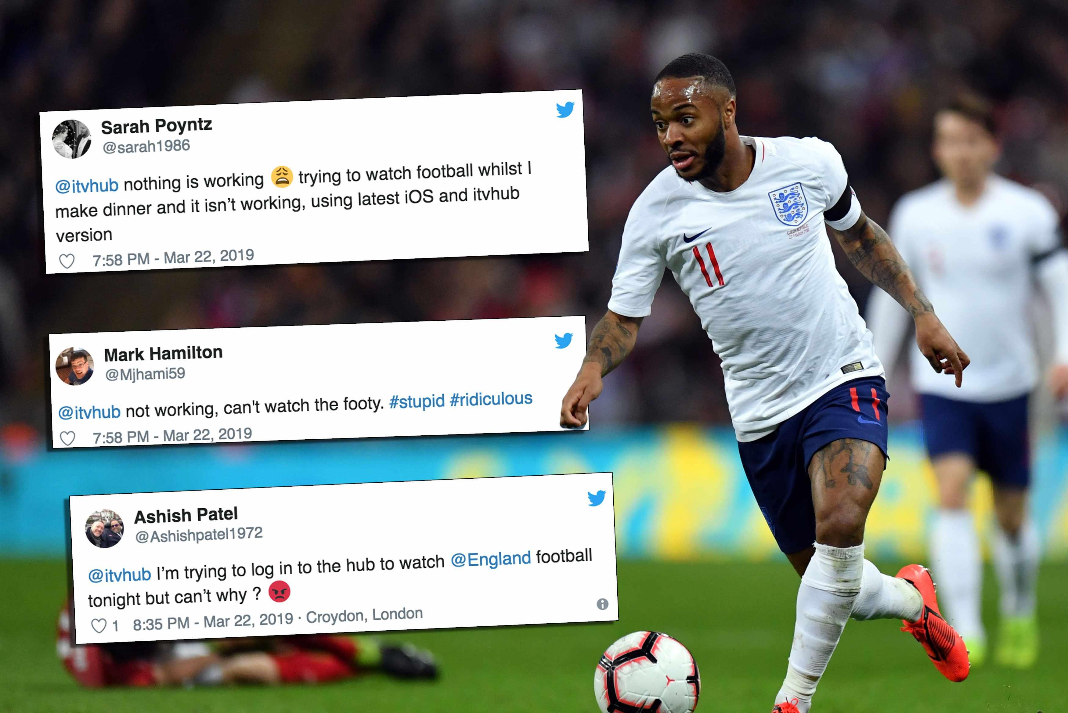 Football ITV hub reaction