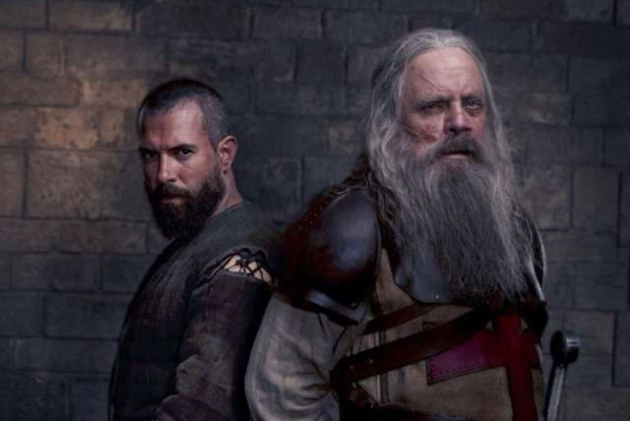 Mark Hamill and Tom Cullen in Knightfall