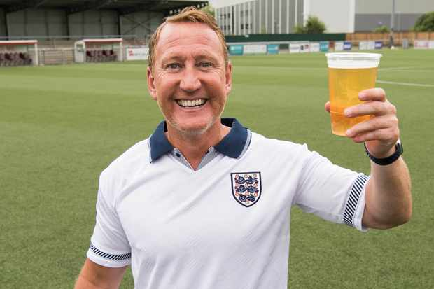Ray Parlour Harry's Heroes (ITV)