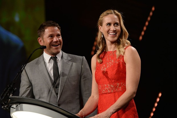 Steve Backshall and Helen Glover (Getty Images)
