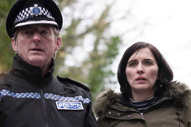What happened at the end of Line of Duty series four?