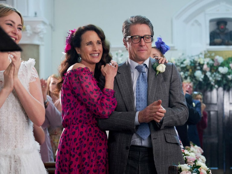 Andie MacDowell cried while filming Four Weddings and a Funeral sequel