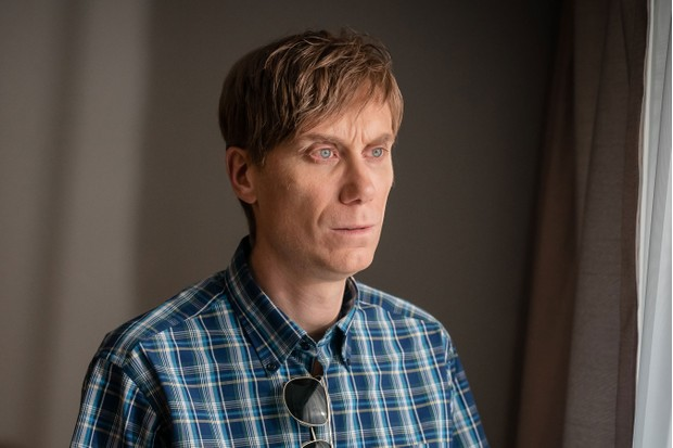 Stephen Merchant in The Barking Murders