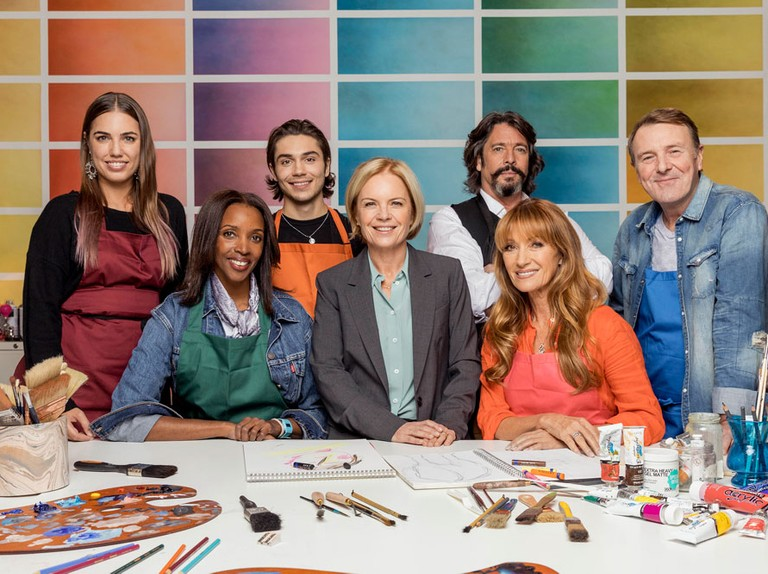 Meet the contestants in Celebrity Painting Challenge
