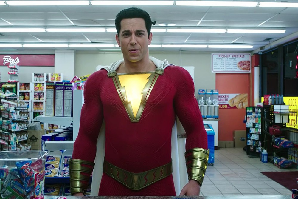 Zachary Levi as Billy Batson in Shazam! (Warner Bros)