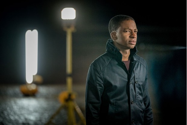 Simon Manyonda plays DS Stewart (ITV Pictures)