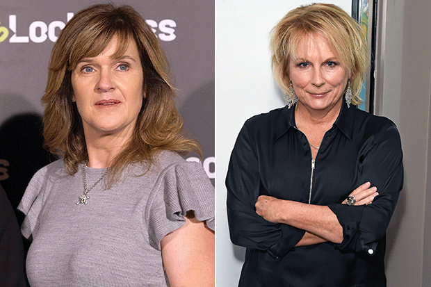 Siobhan Finneran and Jennifer Saunders, Getty