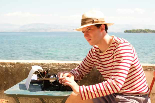 Josh O'Connor in The Durrells