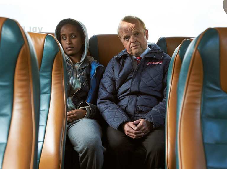 When is Toby Jones comedy Don't Forget The Driver on TV?